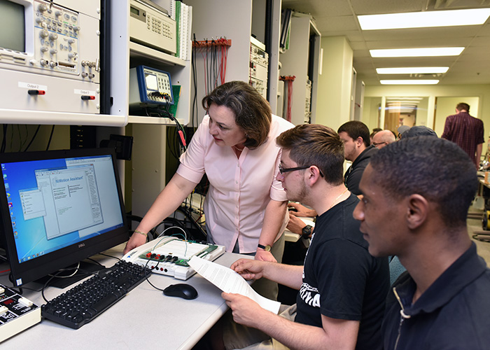 Emphasizing practice, lab work, and application of theory, engineering technology is best suited to students who learn by doing.