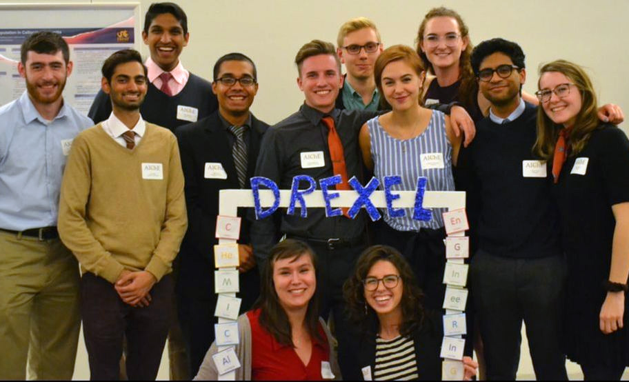 AIChE is a professional organization with the purpose of providing Drexel students the opportunity to gain out of the classroom experience in chemical engineering.