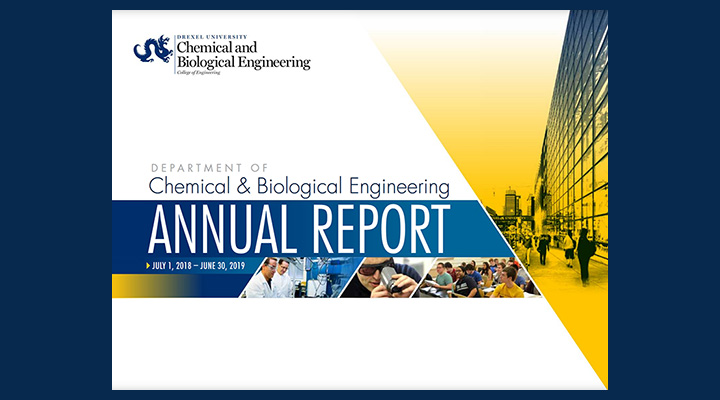 The 2018-19 Annual Report of the Department of Chemical and Biological Engineering is now available. Learn more about our department through metrics and faculty profiles, and get a glimpse of the exciting research taking place.