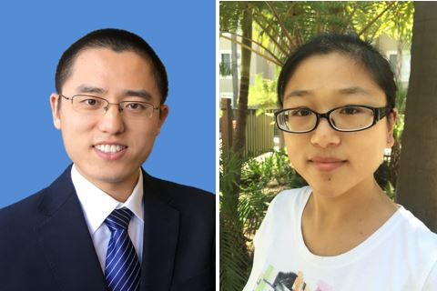 Dr. Fei Lu and Dr. Hua Zhang Receive IEEE Prize Letter Award image