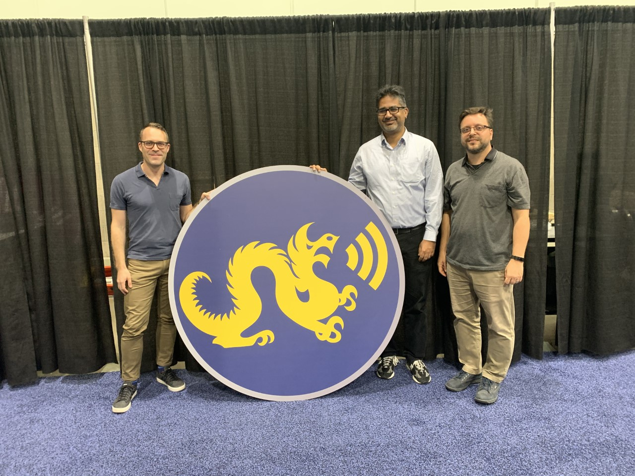 Team Dragon Radio Takes Eighth Globally at DARPA Competition image