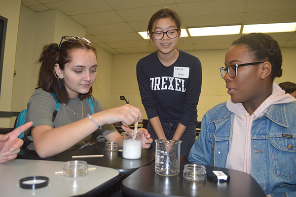 Age-specific hands-on workshops give participants the opportunity to work in small groups to explore how materials science and engineering is applied to solving some of today's pressing problems.