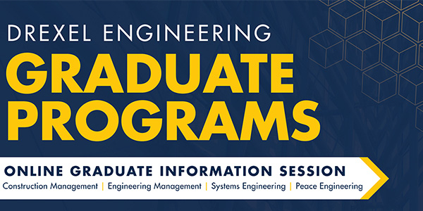 Join us for an online information session to learn more about our MS and PhD programs. October 23: Architectural Engineering, Civil Engineering and Environmental Engineering. October 28: Computer Engineering, Electrical Engineering, Mechanical Engineering.