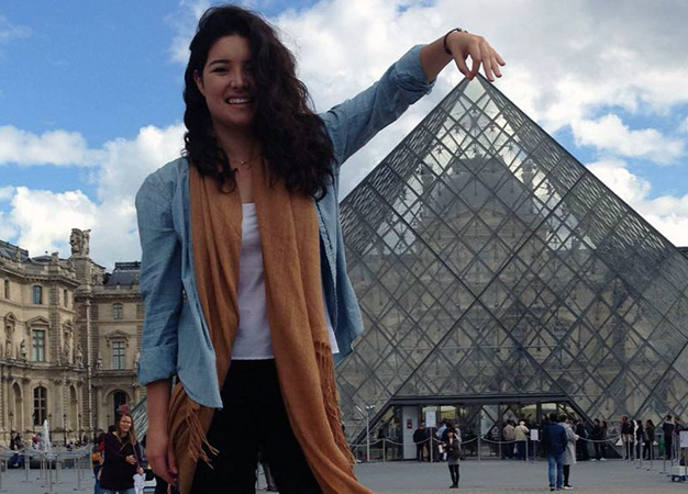 Materials science major Maria Natalia Noriega Pedraza completed a dual-program co-op in France and in Germany.