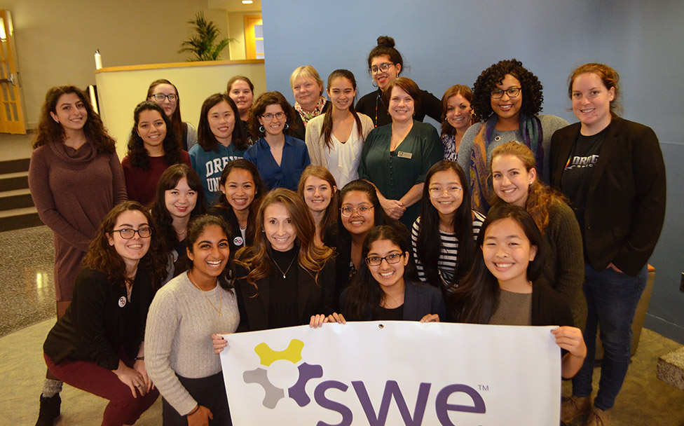 "SWE ""Lives and Lessons"" Forum Addresses Challenges, Strengths of the Underrepresented image"