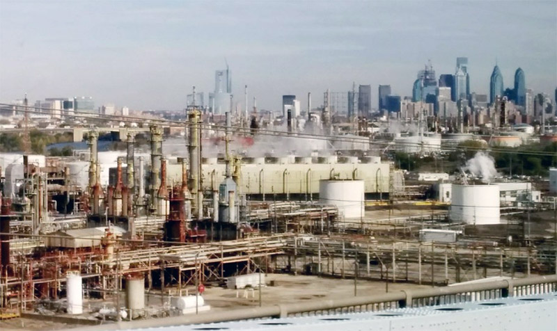 Philadelphia Energy Solutions (PES) refinery