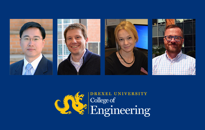 <span>Four Drexel Materials Faculty Receive Promotions</span> image