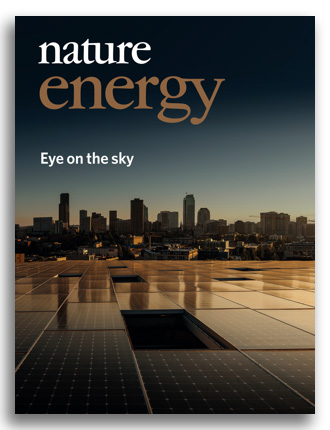 Nature Energy cover