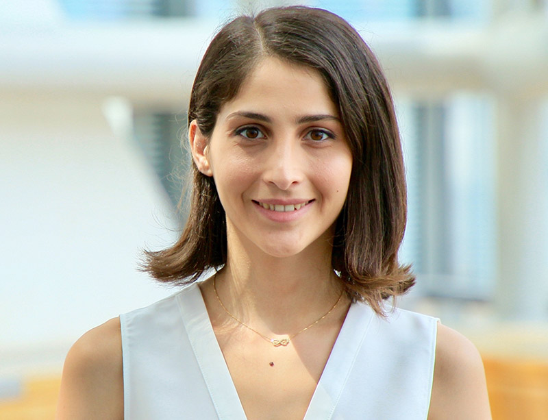 PhD Candidate Simge Uzun Develops Conductive Yarns for Smart Textiles image