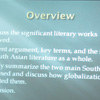 "Matthew Wiley's project, ""Flattening South Asia: The Impact of Globalization on South Asian Literature"""