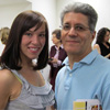 Lauren Boyle and Albert DiBartolomeo, Co-Director of the Drexel Publishing Group