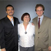 Clay Thompson, Dr. Gabriella Ibieta, and Michael Brandon Harris-Peyton