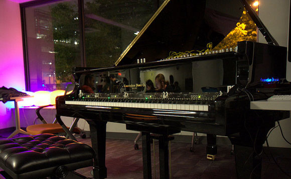 Magnetic Resonator Piano