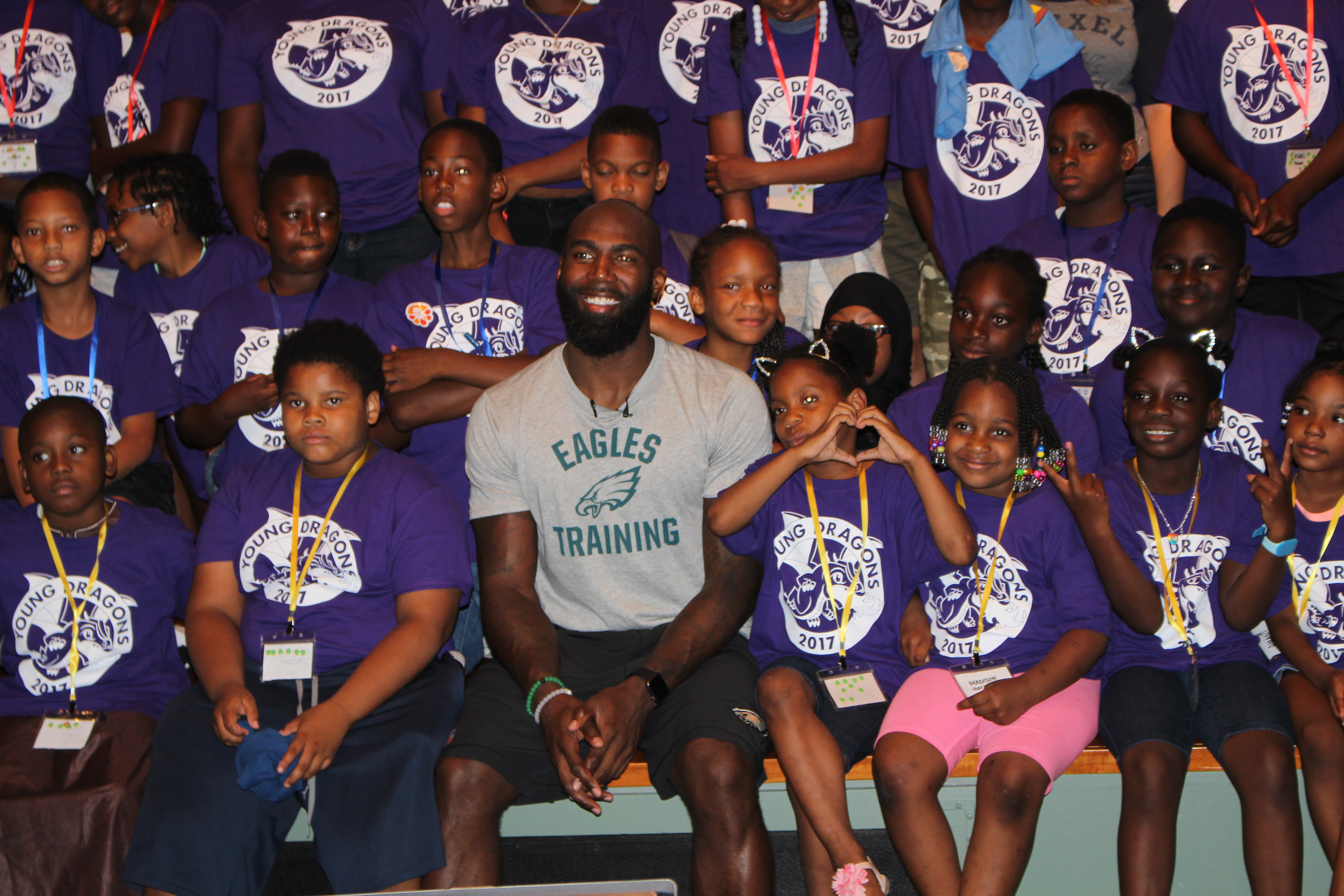 Malcolm Jenkins, Drexel University's Young Dragons, ExCITe Center