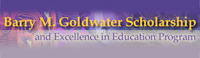 Barry M. Goldwater Scholarship and Excellence in Education Program Logo