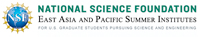 NSF East Asia and Pacific Summer Institutes (EAPSI)
