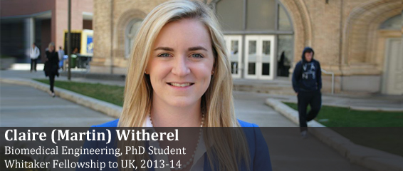 Whitaker Fellow Claire (Martin) Witherel