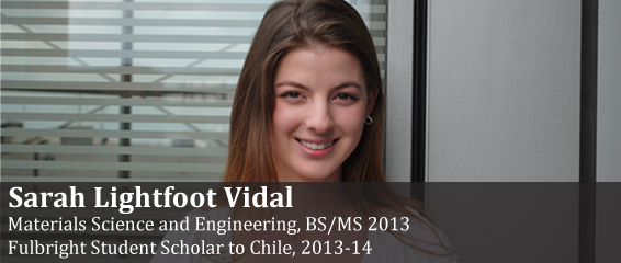 Fulbright Scholar Sarah Lightfoot Vidal.