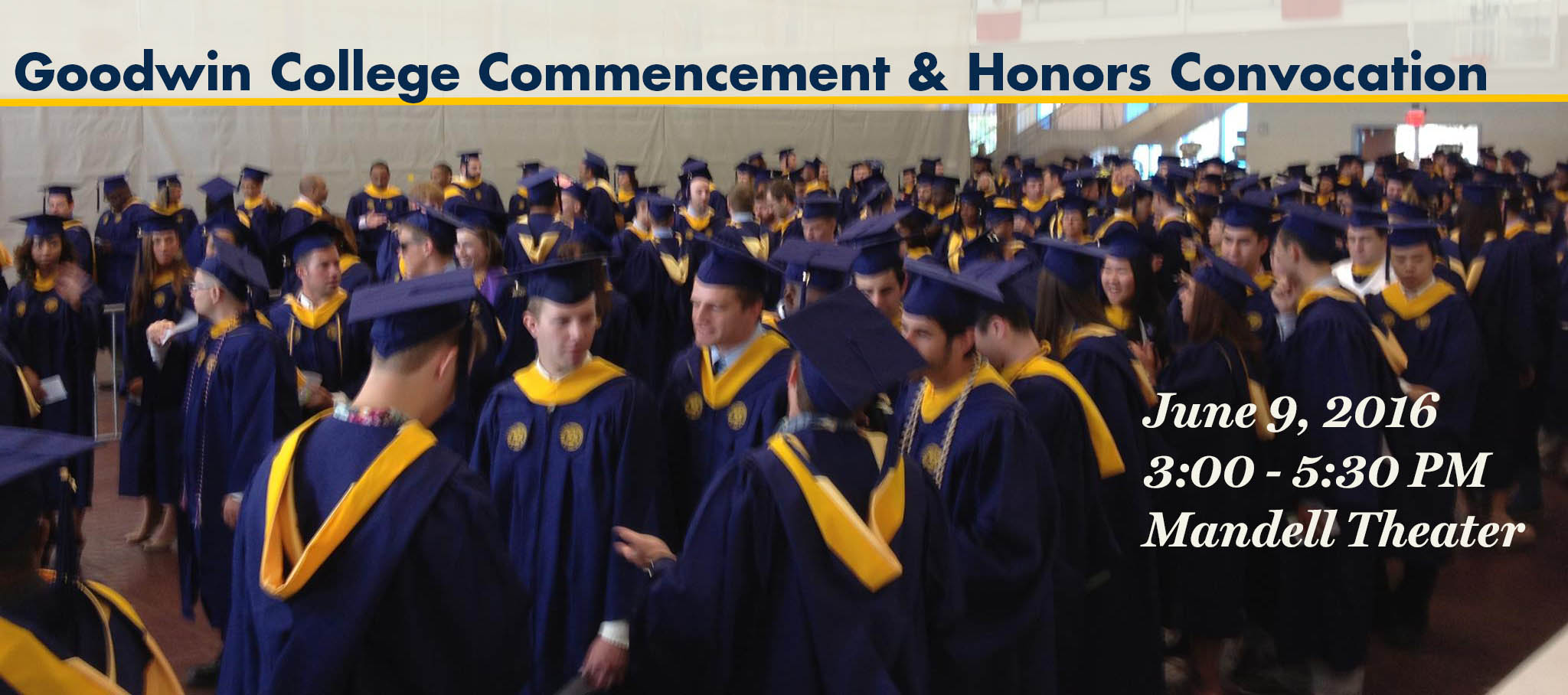 Commencement & Honors Convocation 2016