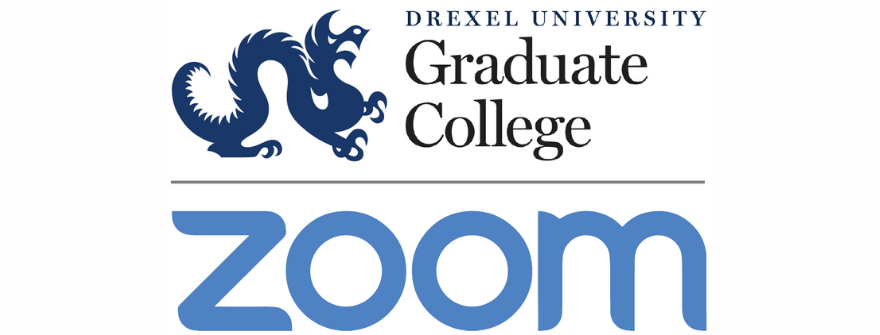 Graduate College and Zoom Logos