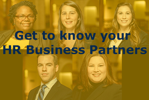Get to know your HR Business Partners
