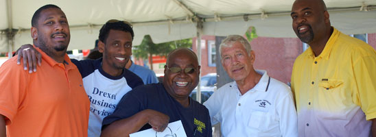Drexel employees at the annual Employee Appreciation Picnic