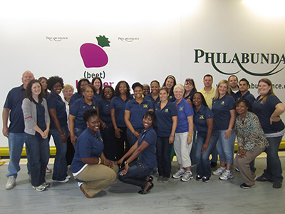 Drexel HR Volunteering at Philabundance