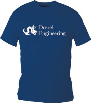 Drexel Engineering t-shirt example