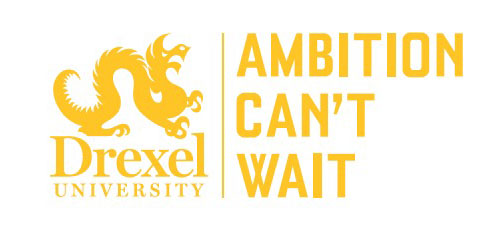 Ambition Can't Wait yellow logo