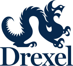 Drexel Informal Vertical blue HEX