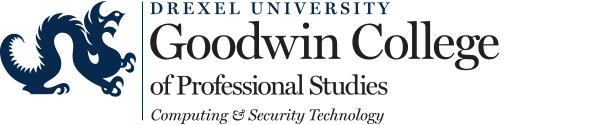 Goodwin College of Professional Studies Computing and Security Technology primary logo