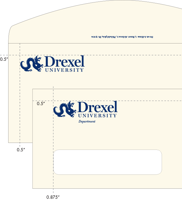 #10 Drexel Envelopes