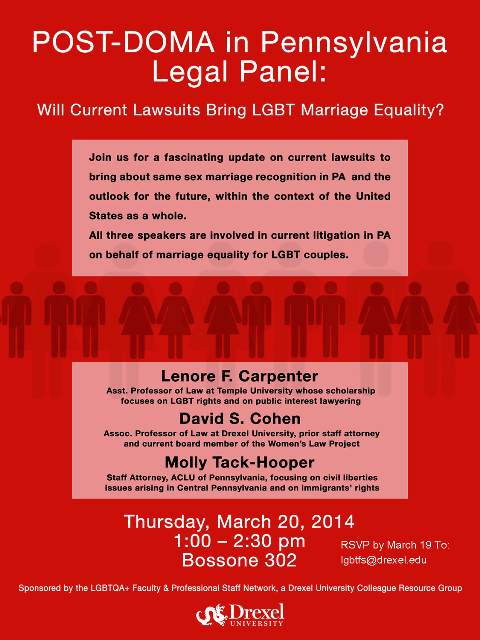 POST_DOMA event flyer