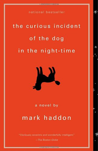Image of the book cover for 'The Curious Incident of the Dog in the Night-Time ' by Mark Haddon