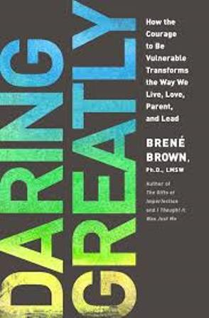 Book Cover for Daring Greatly by Brene Brown