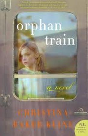 Book cover for Orphan Train by Christina Baker Kline