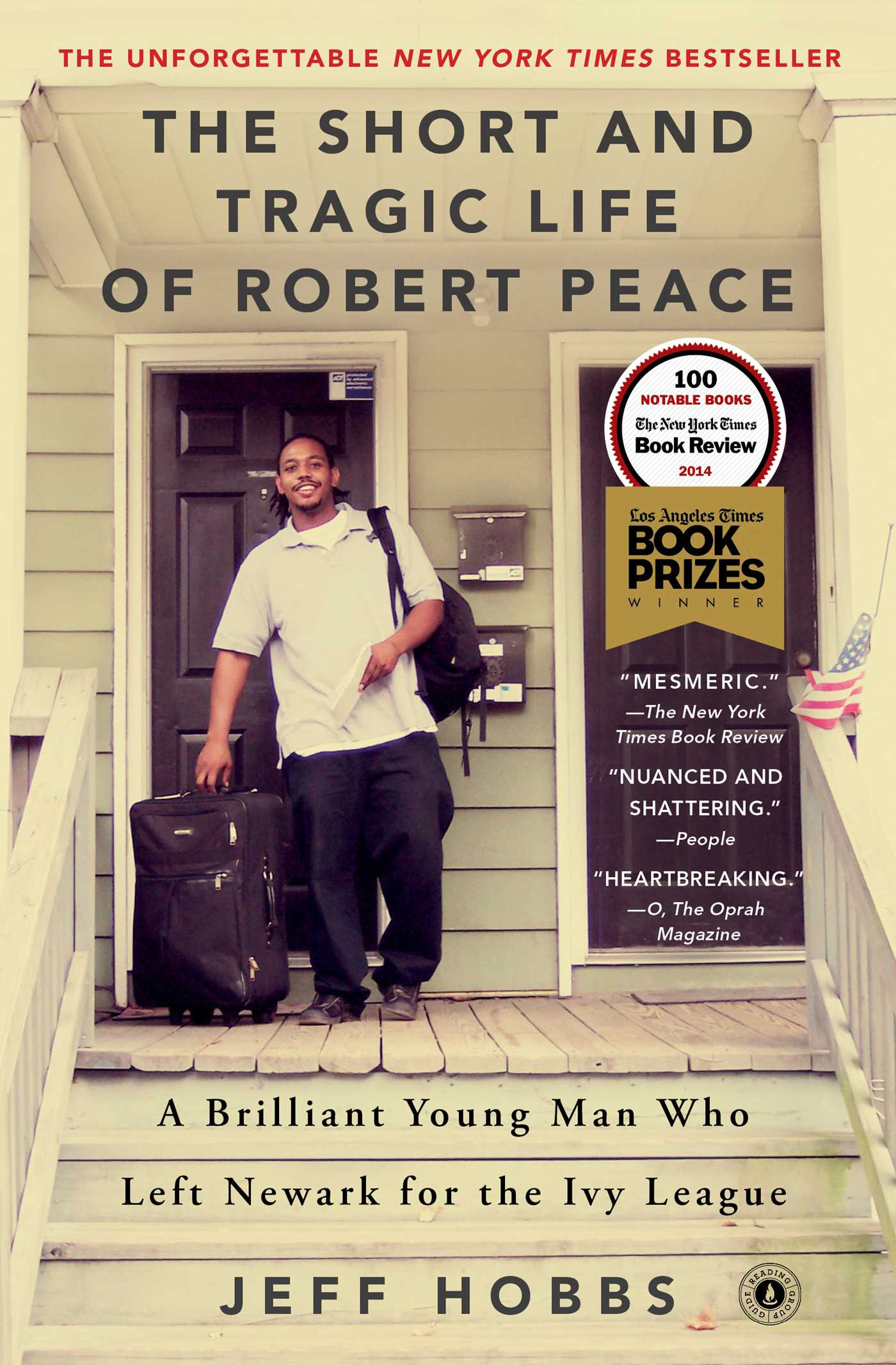 Book cover for the short and tragic life of robert peace
