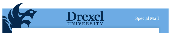Drexel Special Mail