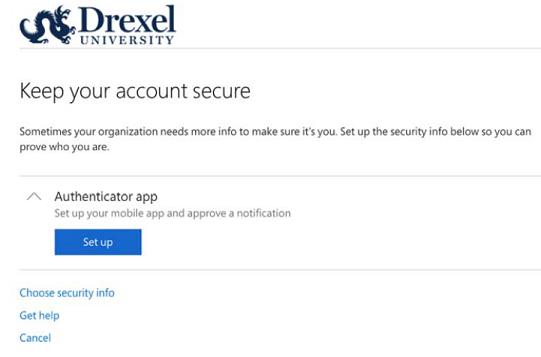 macOS Multi-Factor Authentication Setup | Information