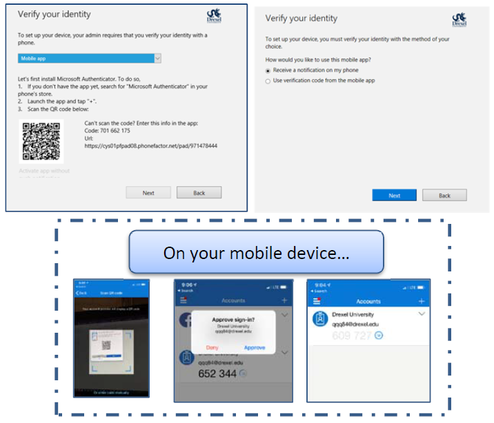 Windows Setup for Multi-Factor Authentication | Information