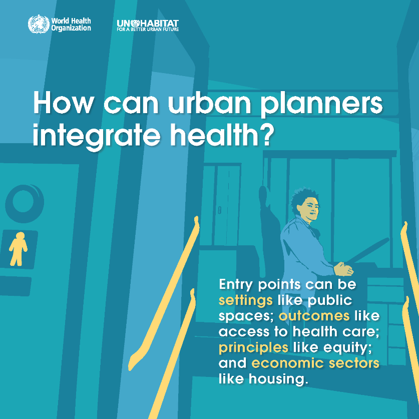 infographic: urban planners and health
