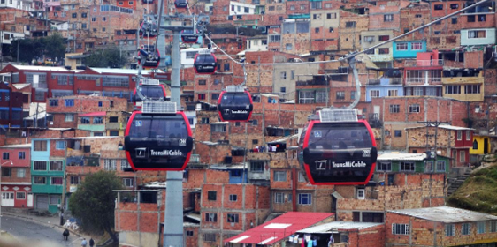 cable carts in Colombia