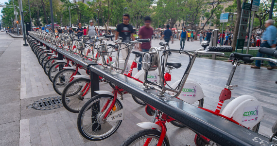 EcoBici in Mexico City