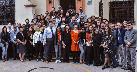 Group shot of SALURBAL Sixth Biannual Project Meeting