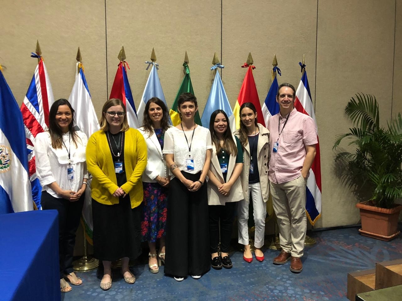 group of SALURBAL researchers at conference in El Salvador