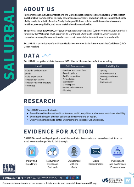 SALURBAL FACTSHEET COVER