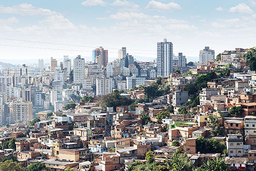 Photo of the city of Belo Horizonte, Brazil