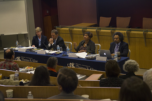 Community and Re-entry Panel at Law Review Symposium