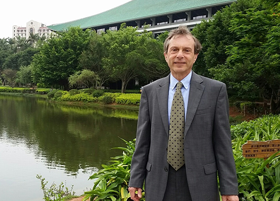 Rob Field at Xiamen Law School in China May 2015