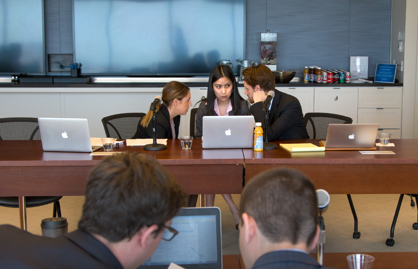 Kline law students participate in transactional Law exercise at Drinker Biddle
